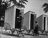 Port-a-Potties from back in the day!