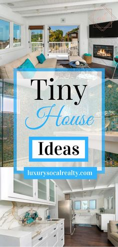 Tiny House Interior Decorating//Tiny House Interior Decorating Ideas//Small Interior Design//Small House Decorating//Small House Decorating Ideas curated by Joy Bender Compass Luxury Real Estate Agent in La Jolla, CA. San Diego REALTOR®️️️️ #smallkitchen #smallhouse #tinyhouse #tinyhouseplans #tinyhome #tinyhouses