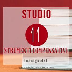 Strumenti compensativi per lo studio Special Needs, Back To School, Coaching, Teacher, Letters, Education, Learning, Studio, Books