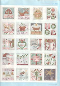 gift tags  or blanket ideas     p