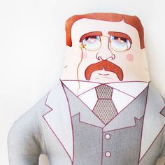 Theodore Roosevelt from Late Greats for $36.00 Renegade Craft Fair, Theodore Roosevelt, Craft Fairs, Crafts, Art, Art Background, Manualidades, Kunst, Handmade Crafts