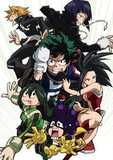 AniList: Boku no Hero Academia: Jump Festa 2016 Special - anime