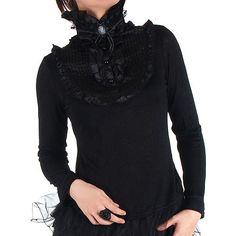 Long Sleeves Gothic Lolita T-shirt
