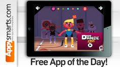 FREE APP of the day - Toca Dance. A virtual dance school.  for iPad/iPhone  In the free version you will find 3 characters with 6 outfits and 2 accessories and one soundtrack. What we liked: the concept. Fun graphics and animations. Ease of use. Humor and fun factor. Number of extras and options including 'dressable' characters, various 'dance routines', special sound and visual effects.  Enjoy!  thx #Toca Boca