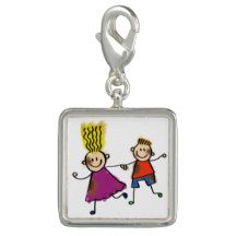 #Happy #Funny #Kids #Couple Drawing Doodle Cartoon Photo Charms #ChristmasGift