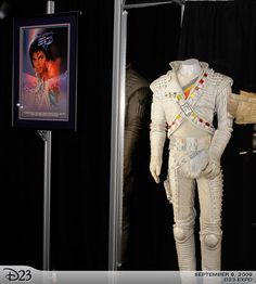 Michael Jackson's Captain Eo costume is a spectacular item, and is lent to the Walt Disney Archives courtesy of Lucasfilm. Description from michaeljackson.ch. I searched for this on bing.com/images