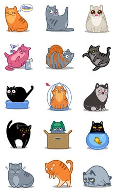 Meow Project by Denis Sazhin , via Behance