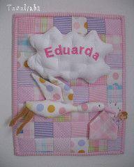 Porta de maternidade para Monique - patchwork   by Tecelinha *