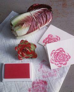 Projekte aus vorhandenen Stoffen küchen servietten DIY