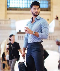 5 Everyday Outfits To Look Great Indian Men Fashion, Mens Fashion Blog, Mens Fashion Suits, Fashion Fashion, Teaching Mens Fashion, Costume Sexy, Formal Men Outfit, Stylish Mens Outfits, Business Outfit