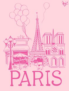 The perfect Parisian tee for the girl who dreams of traveling the world!