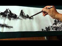 벽초 서상우 선생님 - YouTube Chinese Landscape Painting, Japanese Painting, Chinese Painting, Chinese Art, Japanese Art, Landscape Paintings, Painting Videos, Painting Techniques, Painting & Drawing
