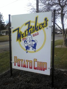 Mrs.Fishers Potato Chips from Rockford, Illinois. These are currently available in the 24bag sampler pack that you can purchase at www.anchorsfoodfinds.com