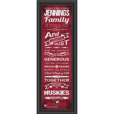 Use this Exclusive coupon code: PINFIVE to receive an additional 5% off the Northern Illinois Huskies Personalized Family Cheer Print at SportsFansPlus.com