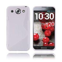 S-Line (Hvid) LG Optimus G Pro Cover