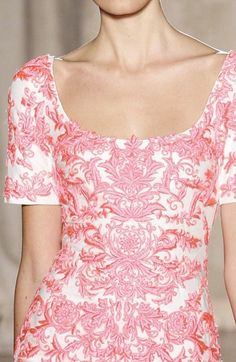 Marchesa, Spring 2013- if only I could have this for the bridal shower or rehearsal dinner! Beauty!