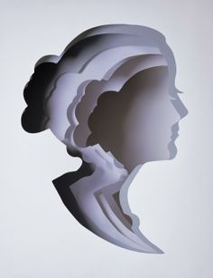 of paper and things: paper arts   paper silhouettes