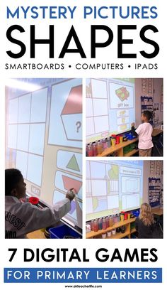 Learn about Mystery Pictures,  a hands-on, PowerPoint game that engages students in identifying the names and attributes of 2D and 3D shapes.
