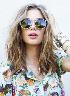 love the hair and the glasses. love. Ray Ban Aviators  Ray  Ban 34ad71617a