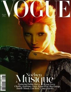 Kate Moss come David Bowie per Vogue Paris