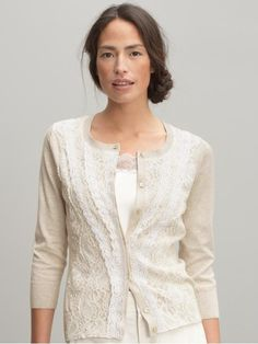 My favourite lace cardigan - I even wore it over my wedding dress!
