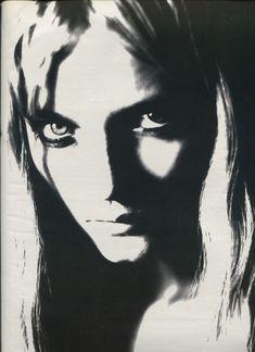 "W January 1999 ""Stardust"" Models: Devon Aoki, Angela Lindvall, Sarah Daykin, Billy White, May Anderson, Kristen Peters, Laura McDaniel & Kelsea Photographer: Paolo Roversi"