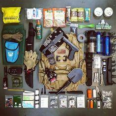 Bug out bag #survivalbag