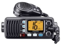 The best choice for communications across water - Marine Radios