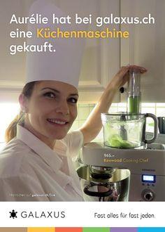 Aurélie hat bei galaxus.ch eine Küchenmaschine gekauft. #GalaxusLive #Galaxus