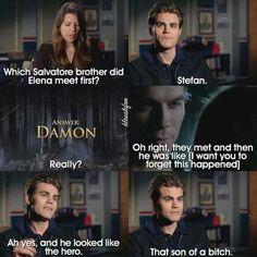 Paul Weslry Vampire Diaries about Damon