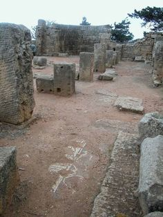 Ruins of the Phoenician colony of Tipasa, Maurentania - Click on the images to visit the Historyteller website.