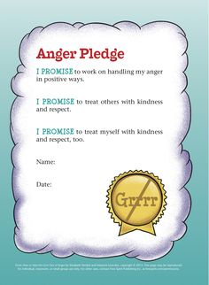 10 tips for keeping the peace between siblings on road trips and other summer family outings, plus a free printable page: Anger Pledge.