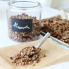 This Top Secret Granola is by far the best granola we've had, and is so versatile. It makes a big batch, perfect for a busy week ahead! Make Your Own Granola, Making Granola, Best Granola, Top Secret, Breakfast Recipes, Breakfast Options, Healthy Snacks, Favorite Recipes, Yummy Food