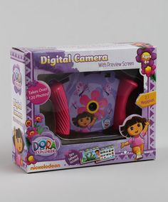 Take a look at this Dora Talking Digital Camera by Dora the Explorer on #zulily today!