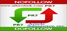 Page Rank 7 Article Submission site Article Submission Sites, Article Sites, Press Release, Submissive, Search Engine, Seo, Promotion, Engineering