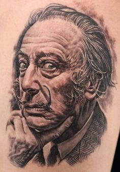 "Dali by Korean Tattoo Artist ""Q"" #stream"