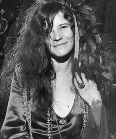 Janis Joplin's wristlet and tiny heart on the left breast, done by the San Francisco based tattoo artist Lyle Tuttle in the 60s, which was an early moment in the popular culture's acceptance of tattoos as art. Artista Tatuador: Lyle Tuttle