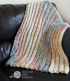 This chunky blanket is a fun beginner friendly crochet pattern. I worked this up in just a few days because of the super bulky yarn, Lion Brand Thick & Quick that I used. This is one of those patterns that once you get the first few rows in you are good to let your mind go and just crochet! I have to admit that I sat in front of the TV with my pajamas, coffee and Netflix for about two evenings while working on this! But who doesn't love to crochet & Netflix binge?