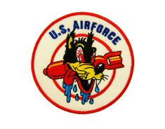 U.S. Air Force Embroidered Applique Iron on Patch