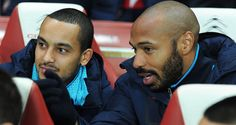 Arsene Wenger tips Theo Walcott to follow Thierry Henry by becoming a prolific striker at Arsenal #soccer #sports