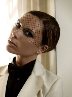 Victoria Beckham in outtake from shoot for Glamour Germany magazine, September 2008