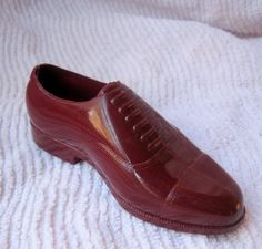 Vintage Plastic Man's shoe from homeandjoyhome on Etsy