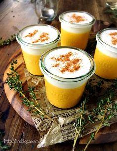 ♡混ぜて冷やして超簡単♡とろけるクリームかぼちゃプリン♡【#オーブン不要#卵不使用#時短#お菓子#スイーツ】 : Mizuki