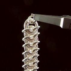 Vertebrae weave Chainmaille tutorial