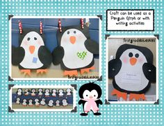 First Grade Blue Skies: Simple, but Cute Penguins & a Freebie! Plus Flash Giveaway!