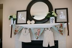 chic, gender neutral baby shower