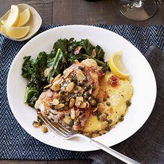 Swordfish Piccata | For home cooks, wrapping prosciutto or serrano ham ...