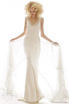 Spring 2013 Elizabeth Fillmore Fiona Wedding Gown