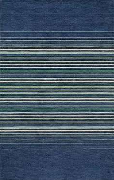 @rosenberryrooms is offering $20 OFF your purchase! Share the news and save!  Gramercy Middle Stripes Blue Rug #rosenberryrooms