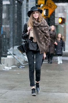 New York Fashion Week - Best streetstyle looks (19) - Elle.ro